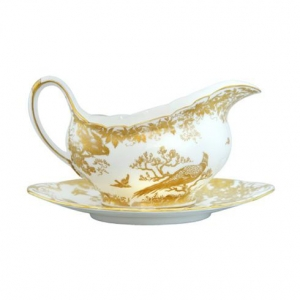 Royal Crown Derby Gold Aves Spodek pod Sosjerkę