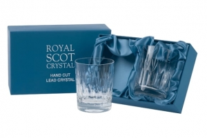 Royal Scot Crystal Szklanki Sapphire do Whisky 330ml 2szt.