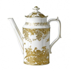 Royal Crown Derby Gold Aves Imbryk do Kawy 1,14l.