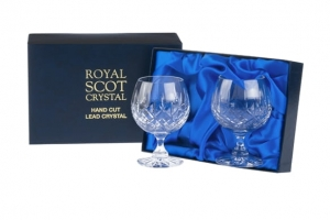Royal Scot Crystal Kieliszki London do Brandy 2szt.