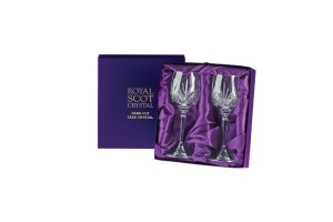 Royal Scot Crystal Kieliszki Highland do Wina Małe 2szt Pres.Box