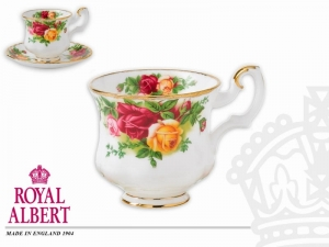 Royal Albert Old Country Rose Filiżanka ze spodkiem