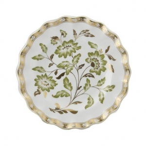Royal Crown Derby - Derby Panel Green Talerz Accent 21cm