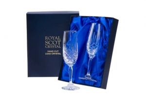 Royal Scot Crystal Kieliszki London do Szampana 2szt.