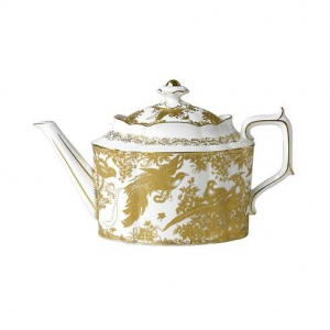 Royal Crown Derby Gold Aves Imbryk do Herbaty 0,9l.