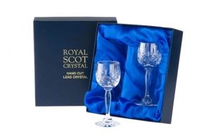 Royal Scot Crystal Kieliszki London do Sherry 2szt.