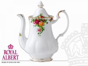 Royal Albert Old Country Rose Imbryk na kawę 1,25l