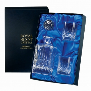 Royal Scot Crystal Zestaw London do Whisky