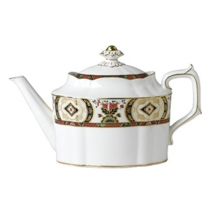 Royal Crown Derby Chelsea Garden Imbryk do herbaty 1,28l.