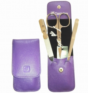 ZWILLING® Beauty Color Splash Purple Kpl do Manicure 3 el.