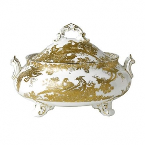 Royal Crown Derby Gold Aves Waza 1,9l.