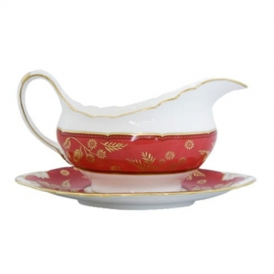 Royal Crown Derby India Red Sosjerka