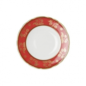 Royal Crown Derby India Red Talerz 16 cm
