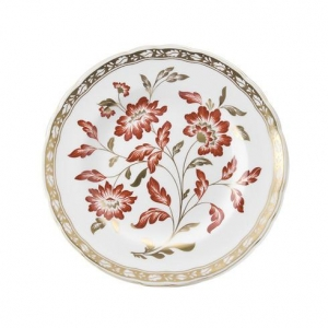 Royal Crown Derby - Derby Panel Red Talerz Accent 21cm