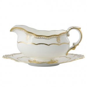 Royal Crown Derby Elizabeth Gold Spodek do Sosjerki