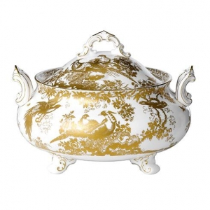 Royal Crown Derby Gold Aves Waza 3,2l.