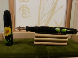 Nakaya Pióro Wieczne Art Model Sunflower