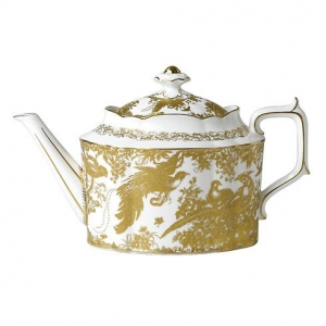 Royal Crown Derby Gold Aves Imbryk do Herbaty 1,28l.