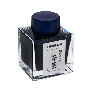 Sailor Atrament Nano Sou-Boku Pigment Ink Niebiesko-Czarny 50ml
