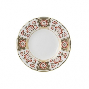 Royal Crown Derby - Derby Panel Red Talerz 16cm