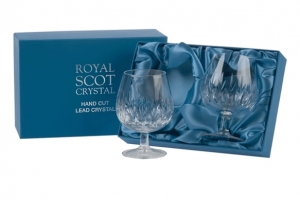 Royal Scot Crystal Kieliszki Sapphire do Brandy 2szt.