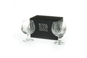 Royal Scot Crystal Kieliszki Highland do Brandy 2szt.