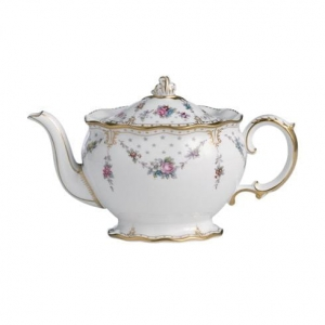 Royal Crown Derby Antoinette Imbryk na herbatę 0,90l.