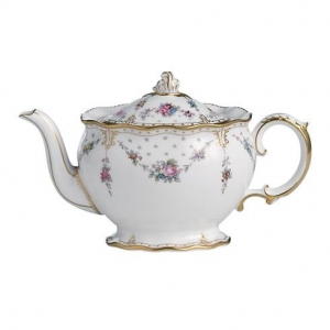 Royal Crown Derby Antoinette Imbryk na herbatę 0,57l.