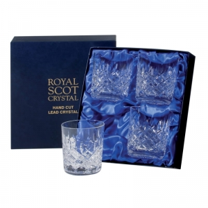 Royal Scot Crystal Szklanki London do Whisky 330ml 4szt.